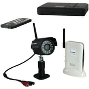 SecurityMan® DigioutAir 2-Channel Digital Wireless Outdoor/Indoor Color Camera Kit With Night Vision