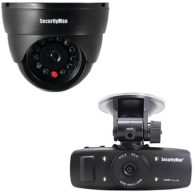 SecurityMan® Carcam-SD HD Car Camera With Impact Sensing Recording