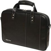 Mobile Edge Slimline Briefcase For Upto 14.1 Ultrabook, Black/White