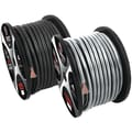 T-Spec 125' V12 Series 8 AWG Power Wire, Matte Smoked