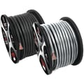 T-Spec 50' V12 Series 1/0 AWG Power Wire, Matte Silver