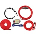 T-Spec V6 Series 8 AWG 400 W Rated Amplifier Installation Kit With RCA Cables