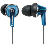 Panasonic RP-HJE190 ErgoFit PLUS Fashion Earbud Earphones, Blue