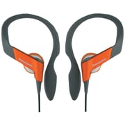 Panasonic Shockwave™ RP-HS33 Sport Clip Headphones, Orange