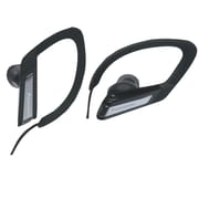 Panasonic RP-HSC200 Sports Clip Headphones With Microphone and Remote, Black