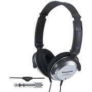 Panasonic RP-HT227 Monitor Headphones With In-cord Volume Control, Black