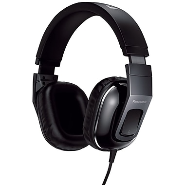 Panasonic® Monitor Street Band RP-HT480C Headphones With Remote and Mic