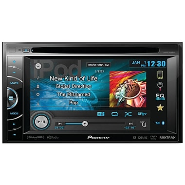 Pioneer AVH-X3600BHS 6.1in. Double-DIN DVD Receiver W/Bluetooth/Hd Radio/Siriusxm Ready/AppRadio