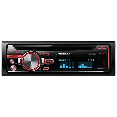 Pioneer DEH-X7600HD Single-DIN CD Receiver W/USB/iPod/RGB/HD Radio/Mixtrax