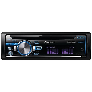 Pioneer DEH-X7600S Single-DIN CD Receiver W/USB iPod/RGB/Siriusxm Ready/Mixtrax