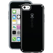 Speck® CandyShell Plastic and Rubber Hard-Shell Case For iPhone5c, Black/Slate Gray