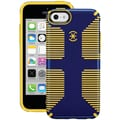 Speck® CandyShell Grip Plastic and Rubber Hard-Shell Case For iPhone5c, Cadet Blue/Goldfinch Yellow