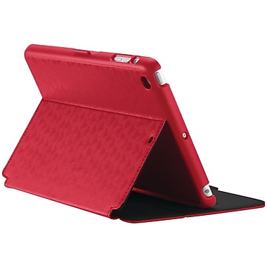 Speck® StyleFolio Case For iPad mini With Retina Display, ValleyVista Dark Poppy/Black