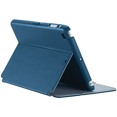 Speck® StyleFolio Case For iPad mini With Retina Display, Deep Sea Blue/Nickel Grey