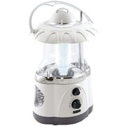 Northpoint 12 LED Lantern With 4 LED Flashlight and AM/FM Radio, White