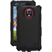 Tridentcase™ Electra Series Case For Samsung Galaxy S4, Black/Red