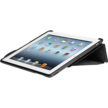 Kensington® SecureBack™ Carrying Case & Lock For iPad, Black