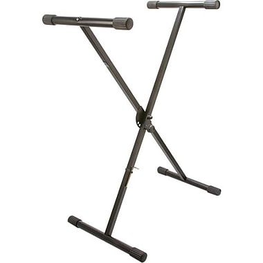 Hosa Technology KBT-442 25.2in. - 38.6in. Single-X Musical Keyboard Stand, Black