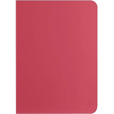 Belkin™ Qode Slim Style Keyboard Case For iPad Air, Sorbet/White