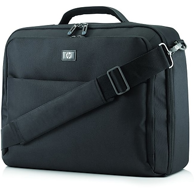 HP® Professional Slim Top Load Carrying Case For 17.3in. Notebook/Tablet PC, Black