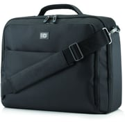HP® Professional Slim Top Load Carrying Case For 17.3 Notebook/Tablet PC, Black