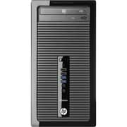 HP® Smart Buy ProDesk 400 G1 Microtower Business Desktop Computer, Intel Dual-Core i3-4130 3.4 GHz