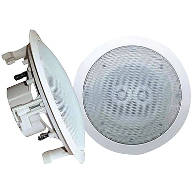 Pyle® PWRC62 300 W Dual 6 1/2in. Channel In-Ceiling Weather Proof Speaker