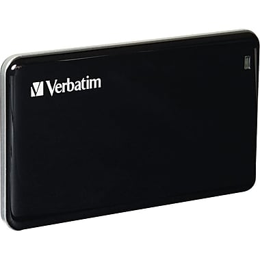 Verbatim® Store 'n' Go 256GB USB 3.0 External Solid State Drive