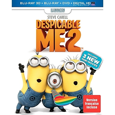 Despicable Me 2 (3D Blu-Ray/Blu-ray/DVD)