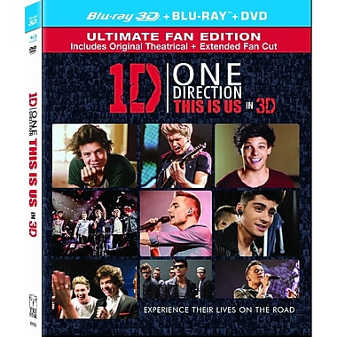 One Direction: This is Us (3d Blu-ray/Blu-ray/DVD)
