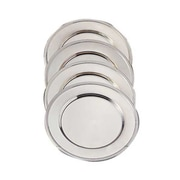 Elegance Silver 82526, 12'' Nickel-Plated Charger Plates