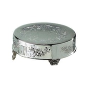 "Elegance Silver 89901 14"" Silver-Plated Cake Stand"
