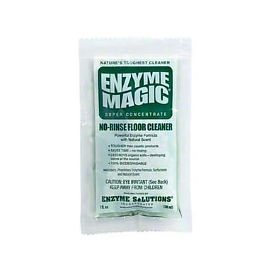 Enzyme Solutions 3000330, Enzyme Magic No Rinse Floor Cleaner - Case of 200 1oz Portion Packs