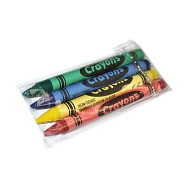 JRMI CR2000-4PKP, Crayons - Pack of 4