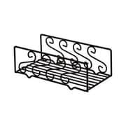 American Metalcraft NDSS95, 8 3/4'' x 5'' Wrought Iron Scroll Design Napkin Basket