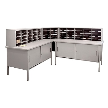 Marvel mailroom 44 60 x 90 x 30 60 slot literature for Sideboard 90 x 60