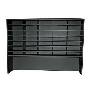 Marvel® Mailroom 42in. x 60in. x 14in. 35 Compartment Utility Sorters With Riser