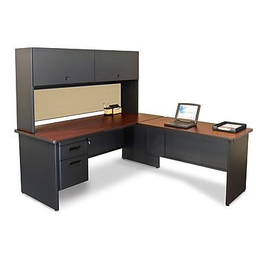 Marvel® Pronto® 72in. x 78in. Laminate Desk W/Return; Beryl