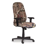 Marvel® Allegra® Fabric High-Back Executive Chair W/Adjustable Arms & Knee Tilt, Mossy Oak®