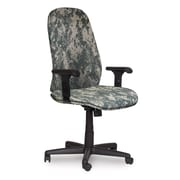 Marvel® Allegra® Fabric High-Back Executive Chair W/Adjustable Arms & Swivel Tilt, ACU Digital Camo