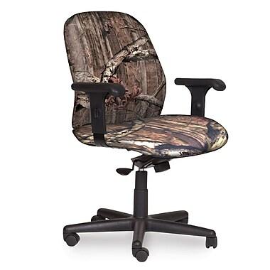 Marvel® Allegra® Fabric Mid-Back Management Chair W/Adjustable Arms & Swivel Tilt, Mossy Oak®
