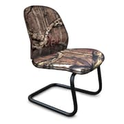 Marvel® Allegra® Fabric Padded Mid-Back Armless Sled Base Chair, Mossy Oak®