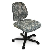 Marvel® Allegra® Padded Fabric Low-Back Armless Task Chair, ACU Digital Camo