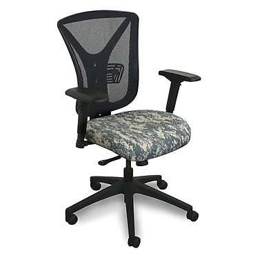 Marvel® Fermata® Fabric High-Back Executive Chair With Adjustable Arms, ACU Digital Camo