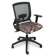 Marvel® Fermata® Fabric Mid-Back Operational Chair With Adjustable Arms, Mossy Oak®