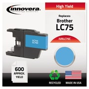 Innovera™ LC75 Cyan Ink Cartridge, High Yield