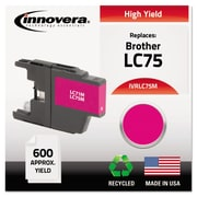 Innovera™ LC75 Magenta Ink Cartridge, High Yield