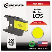 Innovera™ LC75 Yellow Ink Cartridge, High Yield