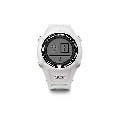 Garmin Approach S2 Watch, White/Grey