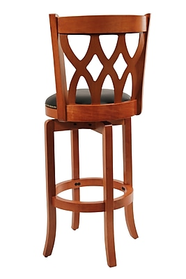 """""Boraam Cathedral 29"""""""" Wood Swivel Stool, ES Cherry"""""" 910874"